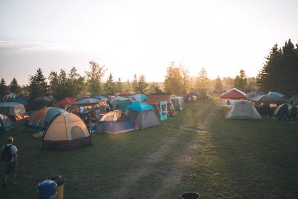 Winnipeg Folk Festival camping photo