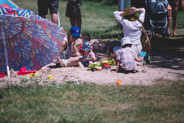 Winnipeg Folk Festival families photo